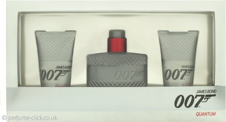James Bond 007 Quantum Gift Set 50ml EDT + 2 x 50ml Shower Gel