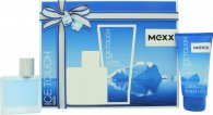 Mexx Ice Touch Man Gift Set 1.0oz (30ml) EDT + 1.7oz (50ml) Shower Gel
