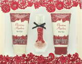 Christina Aguilera Red Sin Gift Set 15ml EDP + 50ml Body Lotion + 50ml Shower Gel