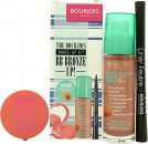 Bourjois BB Bronze Up! Gift Set 30ml BB Bronzing Cream + 2.5g Cream Blush - 02 Glow + 0.8ml Liner Feutree - Black