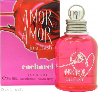 Cacharel Amor Amor In a Flash Eau de Toilette 30ml Spray