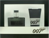 James Bond 007 Set de Regalo 30ml EDT Vaporizador + 50ml Gel de Ducha