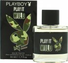 Playboy Play It Wild for Him Eau de Toilette 50ml Spray