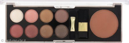 Sunkissed Eye Palette & Bronzer Confezione Regalo - Everyday Glamour 11 Pezzi
