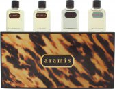 Aramis Miniature Gavesæt 7ml Aramis EDT + 7ml Aramis Aftershave + 7ml Black EDT + 7ml Voyager EDT