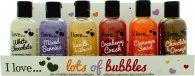 I Love... Gift Set 6 x 100ml Bubble Bath