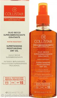 Collistar Supertanning Dry Oil SPF15 200ml