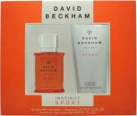 David Beckham Instinct Sport Gift Set 30ml EDT + 200ml Shower Gel