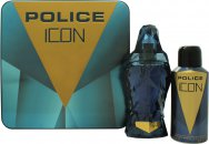 Police Icon Gift Set 125ml EDP + 150ml Deodorant Spray