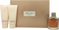 Jimmy Choo Illicit Gavesæt 100ml EDP + 100ml Body Lotion + 100ml Shower Gel