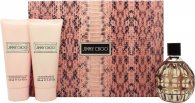Jimmy Choo Gavesett 100ml EDP + 100ml Body Lotion + 100ml Shower Gel