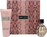 Jimmy Choo Gift Set 60ml EDP + 100ml Body Lotion