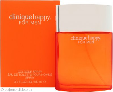 Clinique Happy Cologne Spray Eau de Toilette 100ml Spray