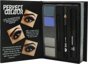 Jigsaw Perfect Colour Smoky Eyes Make Up Gift Set 8 Pieces (Eyeshadow + Eye Pencil + Mascara + Applicator)