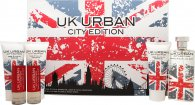 Jigsaw UK Urban City Edition Gift Set 100ml EDT + 100ml Rakgel + 100ml Aftershave Balm + 100ml Dushgel + 2 x 20ml Rese-Sprej
