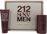 Carolina Herrera 212 Sexy Men Gift Set 50ml EDT + 75ml A/Shave Balm