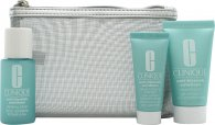 Clinique Hello, Clear Skin Anti-Blemish Solutions Gift Set 30ml Cleansing Gel + 30ml Clarifying Lotion + 15ml All-Over Clearing Treatment
