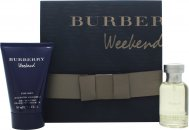 Burberry Weekend Gift Set 50ml EDT + 100ml All Over Shampoo