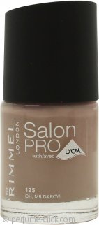 Rimmel Salon Pro Nail Polish 0.4oz (12ml) - 125 Oh, Mr Darcy!
