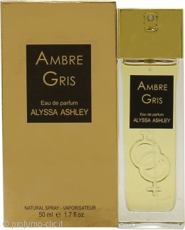 Alyssa Ashley Ambre Gris Eau de Parfum 50ml Spray