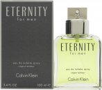 Calvin Klein Eternity Eau de Toilette 3.4oz (100ml) Spray