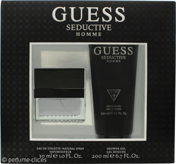 Guess Seductive Homme Set de Regalo 30ml EDT + 200ml Gel de Ducha
