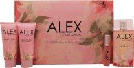 Alex Gerrard Alex Geschenkset 100ml EDT + 20ml EDT + 100ml Body Lotion + 100ml Douchegel