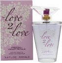 Love2Love Freesia + Violet Petals Eau de Toilette 100ml Spray