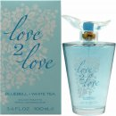 Love2Love Bluebell + White Tea Eau de Toilette 100ml Spray