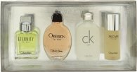 Calvin Klein Miniature Gift Set 15ml Eternity EDT + 15ml Obsession EDT + 15ml CK One EDT + 15ml Escape EDT