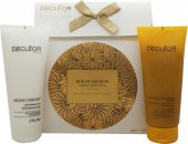 Decleor Box Of Secrets Duo Geschenkset 200ml Aroma Confort Moisturising Body Milk + 200ml 1000 Grain Body Exfoliator