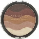 SUNkissed Glimmer Bronzing Compact 19.5g - Dunkel
