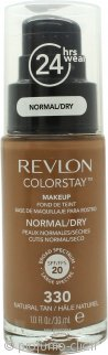 Revlon ColorStay Makeup 30ml - SPF20 Natural Tan Pelle Normale/Secca