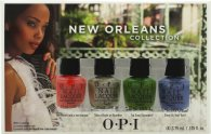 OPI New Orleans Mini Set de Regalo 4 x 3.75ml Esmalte de Uñas