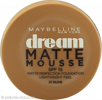 Maybelline Dream Matte Mousse Foundation 18ml - 021 Nude