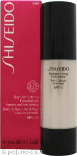 Shiseido Radiant Lifting Fondotinta 30ml SPF15 - B60 Natural Deep Beige