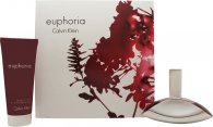 Calvin Klein Euphoria Gift Set 50ml EDP + 100ml Body Lotion