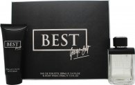 George Best Gift Set 3.4oz (100ml) EDT + 5.1oz (150ml) Body Wash