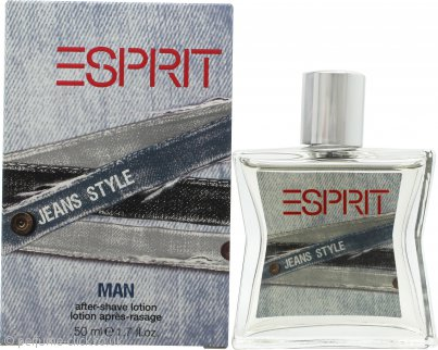Esprit Jeans Style Aftershave 50ml Splash