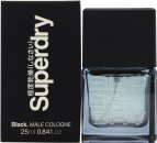 Superdry Black Eau de Cologne 25ml Spray