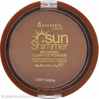 Rimmel Sun Shimmer Compact Powder Light Matte - 11g
