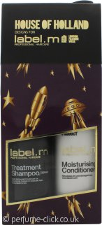 Label.m Moisturising Gift Set 300ml Shampoo + 300ml Conditioner