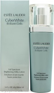 Estée Lauder CyberWhite Brilliant Cells Full Spectrum Brightening Milky Lotion 3.4oz (100ml)