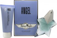 Thierry Mugler Angel Gavesæt 50ml EDP + 100ml Body Lotion