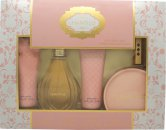 Dana Chantilly Geschenkset 90ml EDT + 52.5g Dusting Powder + 75ml Bodylotion + 75ml Douchegel