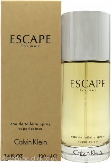 Calvin Klein Escape Eau de Toilette 100ml Spray