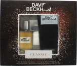 David Beckham Classic Gift Set 40ml EDT Spray + 200ml Hair & Body Wash
