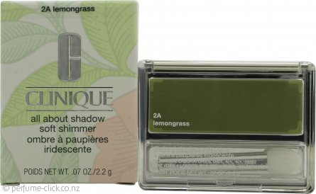 Clinique All About Shadow Eyeshadow Soft Shimmer 2.2g - Lemon Grass