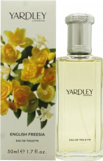Yardley English Freesia Eau de Toilette 1.7oz (50ml) Spray