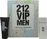 Carolina Herrera 212 VIP Men Set de Regalo 100ml EDT + 100ml Gel Baño/Ducha